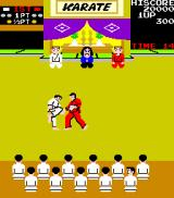 Karate Champ Arcade Another kick.