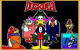 Count Duckula 2 Featuring Tremendous Terence Amstrad CPC Loading Screen.