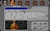 "Amberstar DOS A conversation with a ""non-important NPC"" at night. It works like in Japanese RPGs: no dialogue choices"