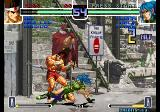 The King of Fighters 2002: Challenge to Ultimate Battle Arcade Low kick.