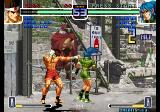 The King of Fighters 2002: Challenge to Ultimate Battle Arcade Attempting a punch.