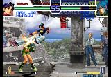 The King of Fighters 2002: Challenge to Ultimate Battle Arcade Flying kick.