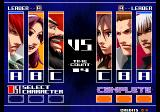 The King of Fighters 2003 Arcade First Match.