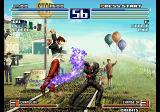 The King of Fighters 2003 Arcade Throwing some magic.
