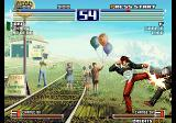 The King of Fighters 2003 Arcade Good kick.