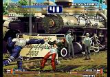 The King of Fighters 2003 Arcade Punching back.