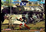 The King of Fighters 2003 Arcade Uppercut.