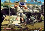 The King of Fighters 2003 Arcade Jumping.
