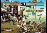 The King of Fighters 2003 Arcade Fighting back.