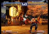 The King of Fighters 2003 Arcade Flying punch.