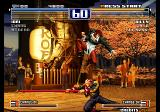 The King of Fighters 2003 Arcade Jumped his punch.