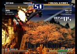 The King of Fighters 2003 Arcade Hitting you in the air.