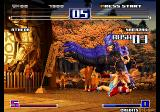 The King of Fighters 2003 Arcade Diving punch.