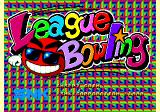 League Bowling Arcade Title Screen.