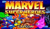 Marvel Super Heroes Arcade Title Screen.