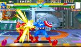 Marvel Super Heroes Arcade Another punch.