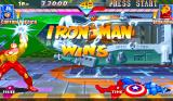 Marvel Super Heroes Arcade Iron man Wins.