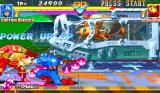 Marvel Super Heroes Arcade Low punch.