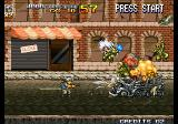 Metal Slug 4 Arcade Blow up the vehicles.