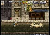 Metal Slug 4 Arcade Danger up above.