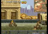 Metal Slug 4 Arcade Having a bike ride.