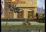 Metal Slug 4 Arcade Big gunship.