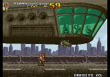 Metal Slug 4 Arcade The big boss.