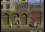 Metal Slug 4 Arcade Outside a prison.