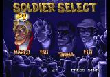 Metal Slug 5 Arcade Soldier select.