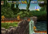 Metal Slug 5 Arcade Jump down.