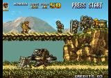 Metal Slug 5 Arcade Crossing the bridge.