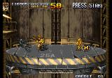 Metal Slug 5 Arcade Taking the lift.