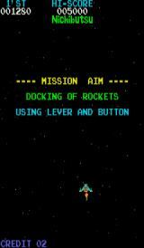 Moon Cresta Arcade Time to dock.