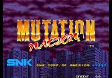 Mutation Nation Arcade Title Screen.