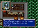 Shining Force Windows First meeting with Gort