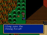 Shining Force Windows Gort joins.