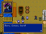 Shining Force Windows The ship is lost.
