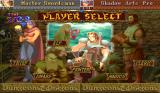 Dungeons & Dragons: Shadow over Mystara Arcade Player select - 6 classic D&D characters to choose from