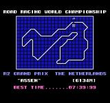 Top-Rider NES TT Circuit Assen? Wth, the track map looks strange in this game.