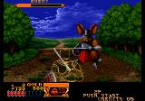 Crossed Swords Arcade Giant mouse to fight.