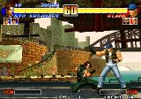 The King of Fighters '96 Arcade Fight under bridge