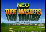 Neo Turf Masters Arcade Title Screen.