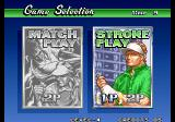 Neo Turf Masters Arcade Game Selection.