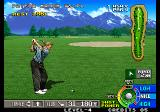 Neo Turf Masters Arcade Approaching the pin.