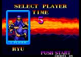 Ninja Commando Arcade Select Player.