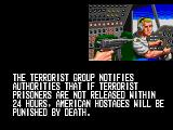 Operation Thunderbolt Arcade Hijacked plane.