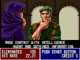 Operation Thunderbolt Arcade Made contact.