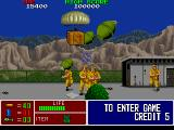 Operation Thunderbolt Arcade Grenades and soldiers to shoot.