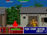 Operation Thunderbolt Arcade Looking for hostages.