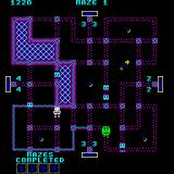 Pepper II Arcade Filling in squares.